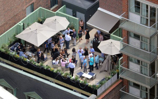 Parties on the Roof!